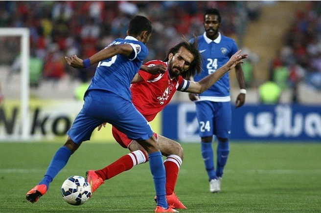 پرسپولیس ایران  1 - 0 الهلال عربستان؛ دقیقه 92، الفرار!