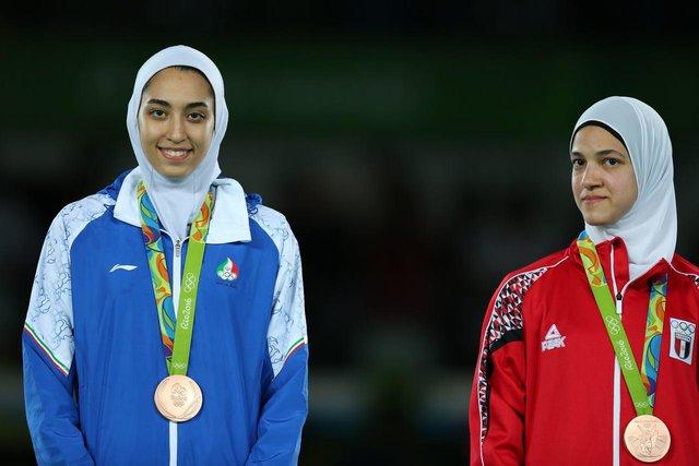 تکواندوی المپیک ریو 2016؛ از مدال برنز بر گردن کیمیای تاریخ ساز تا به اهتزاز درآمدن پرچم ایران (عکس)