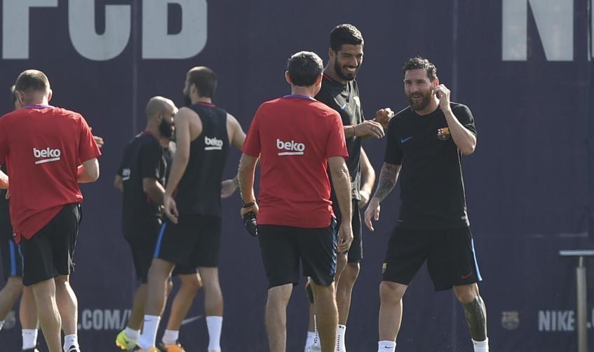 گزارش تصویری - تمرینات بارسلونا