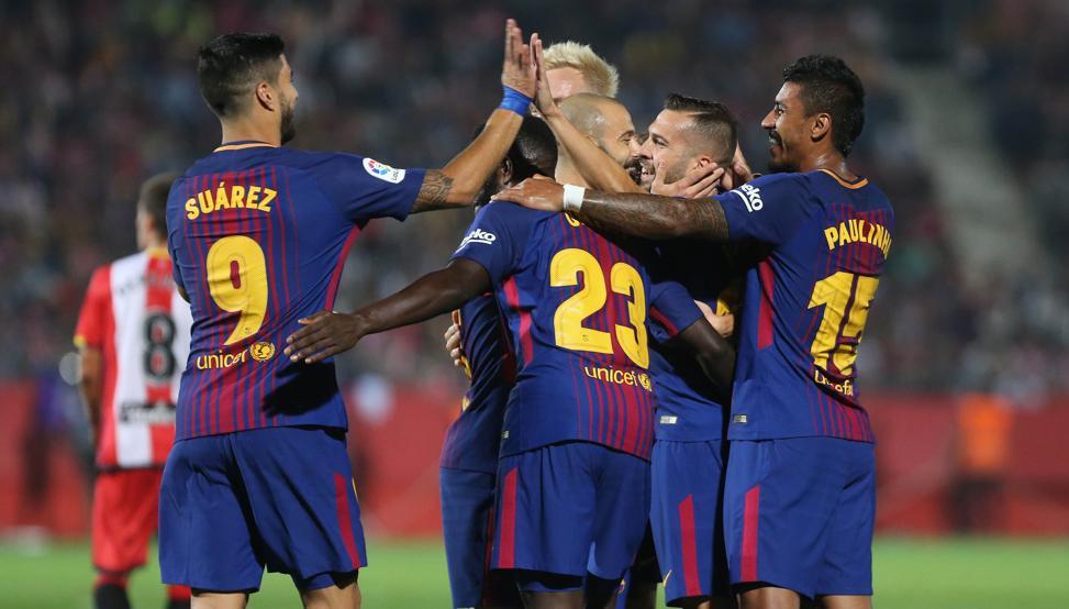 خیرونا 0-3 بارسلونا - بردهای بی دردسر بارسا - لالیگا