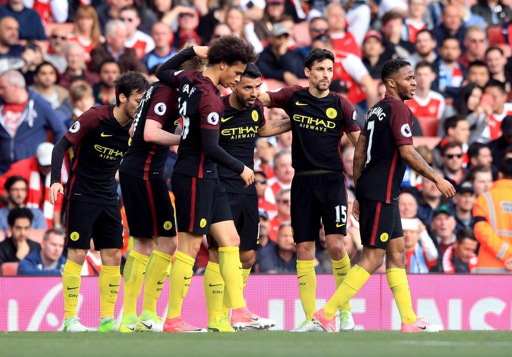 لیگ برتر انگلیس فصل 17-2016 - منچسترسیتی - آرسنال