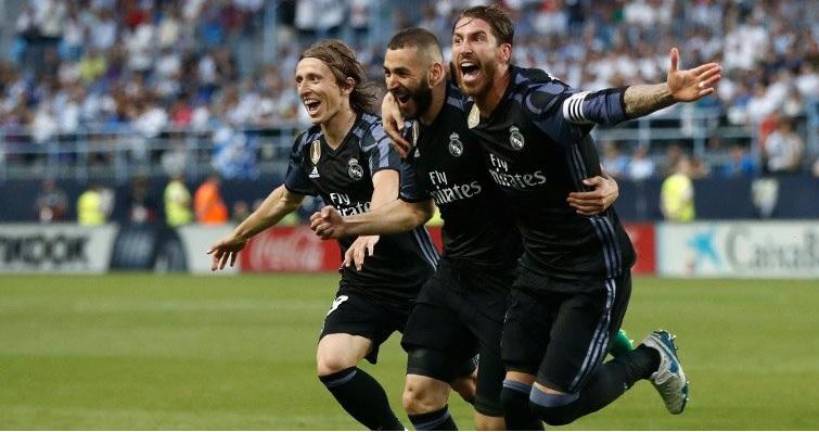 قهرمانی رئال مادرید در لالیگا