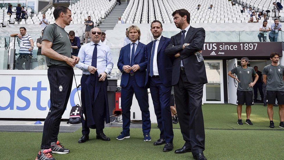 مدیران یوونتوس-نقل و انتقالات یوونتوس-سری آ ایتالیا