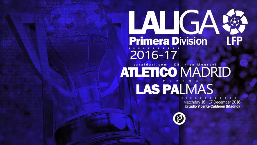 اتلتیکو مادرید - لاس پالماس - لالیگا