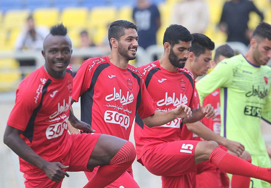 لیگ برتر-پرسپولیس-سیاه جامگان-گزارش تصویری