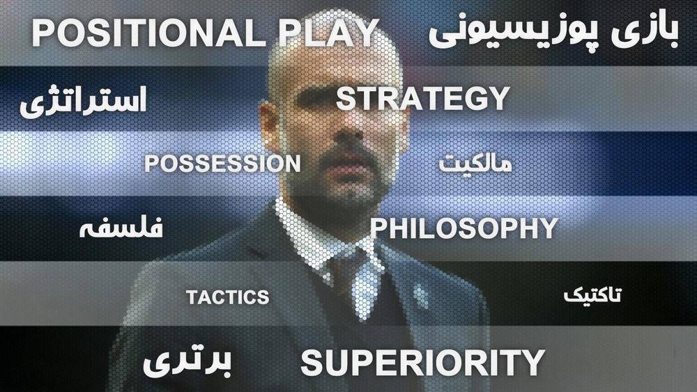 پپ گواردیولا - بازی پوزیسیونی - Positional Play