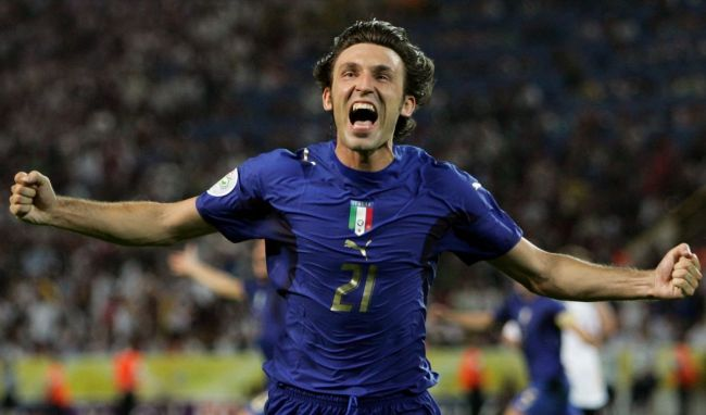 آندره آ پیرلو- جام جهانی 2006- ایتالیا
