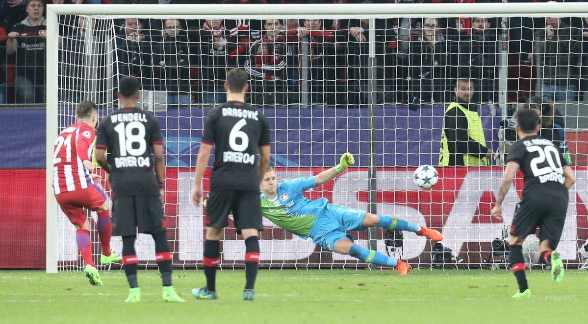 بایرلورکوزن - اتلتیکو مادرید - لیگ قهرمانان اروپا - کوین گامیرو - آنتوان گریزمان