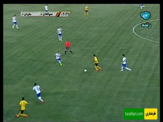 گل ها و خلاصه بازی سپاهان 1 - 1 ملوان