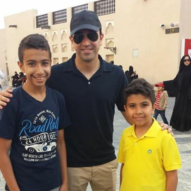 عکس روز: ژاوی هرناندز به قطر رسید