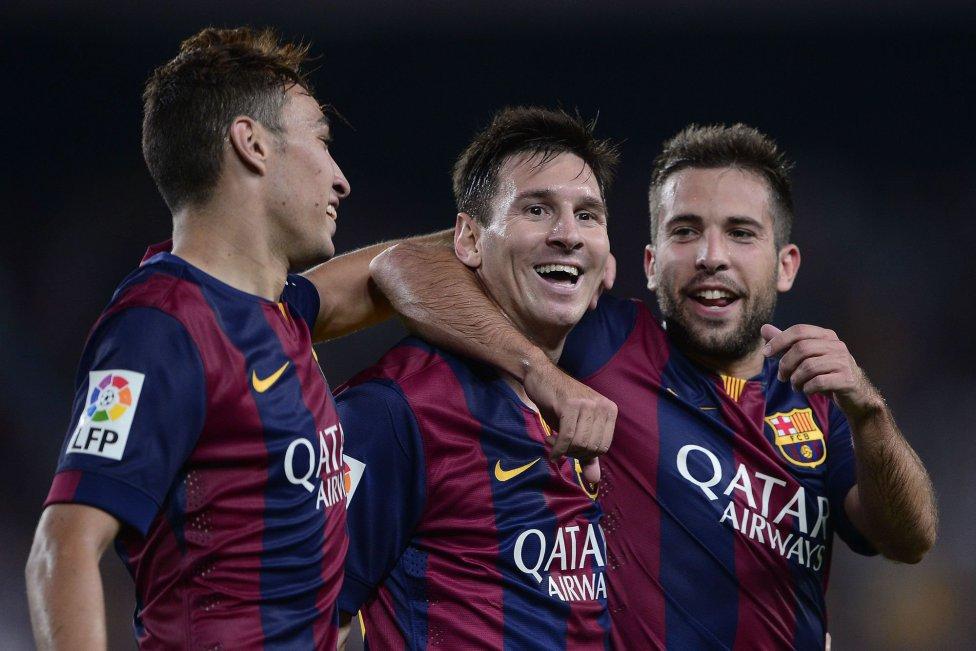 بارسلونا 3 - 0 الچه؛ درخشش مونیر الحدادی، ایوان راکیتیچ و البته لیونل مسی