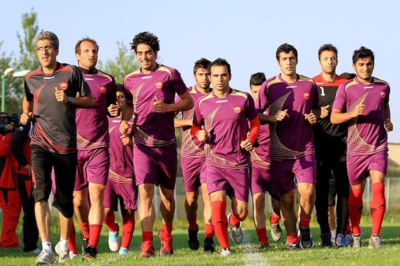 گزارش تمرین پرسپولیس؛ نورمحمدی بیمار شد، ۴ بازیکن تمرین نکردند